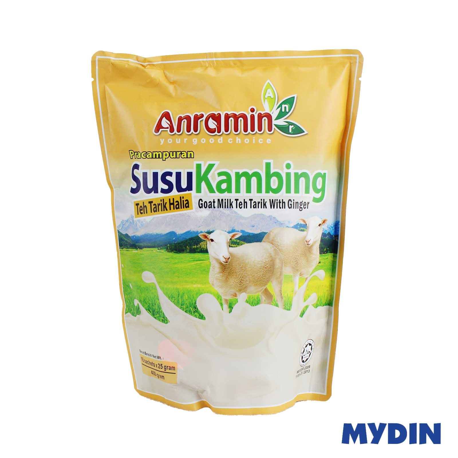 Anramin Goat Milk Teh Tarik With Ginger (25 x 16s)