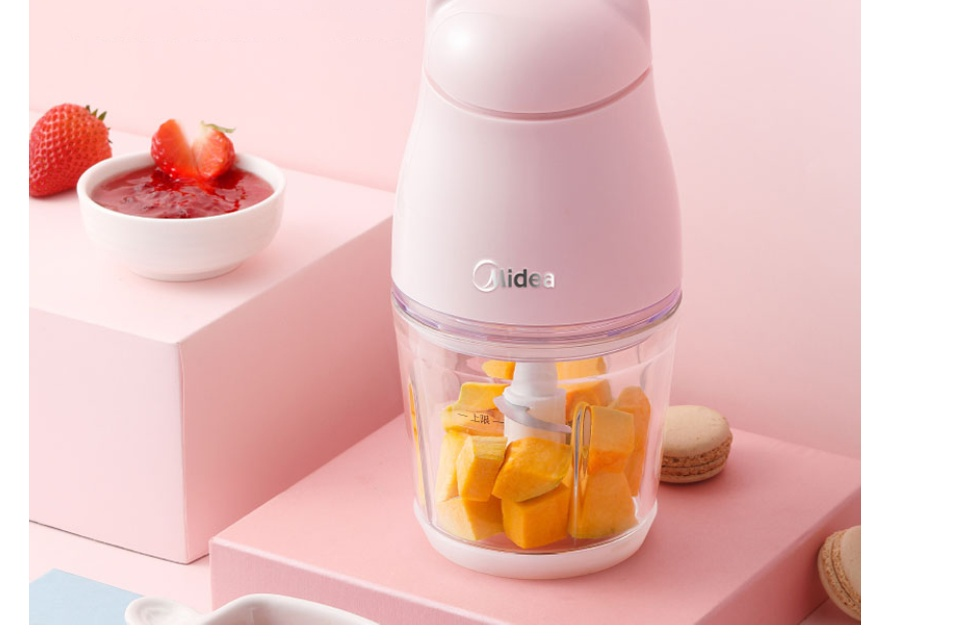 Midea 0.6L Glass Jar Chopper MBC-06PK