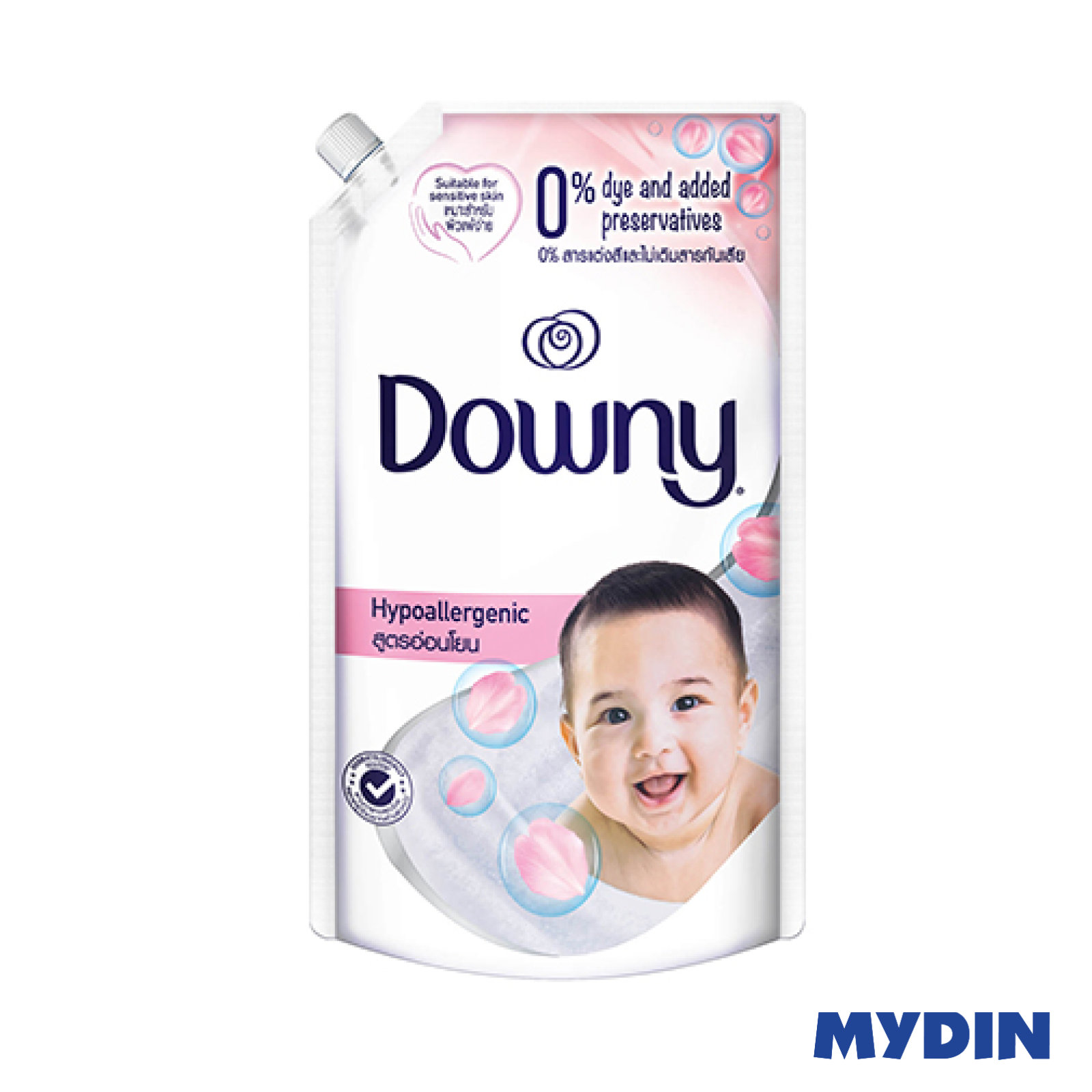 Downy Fabric Softener Baby Hypoallergenic Refill Pack (540ml)