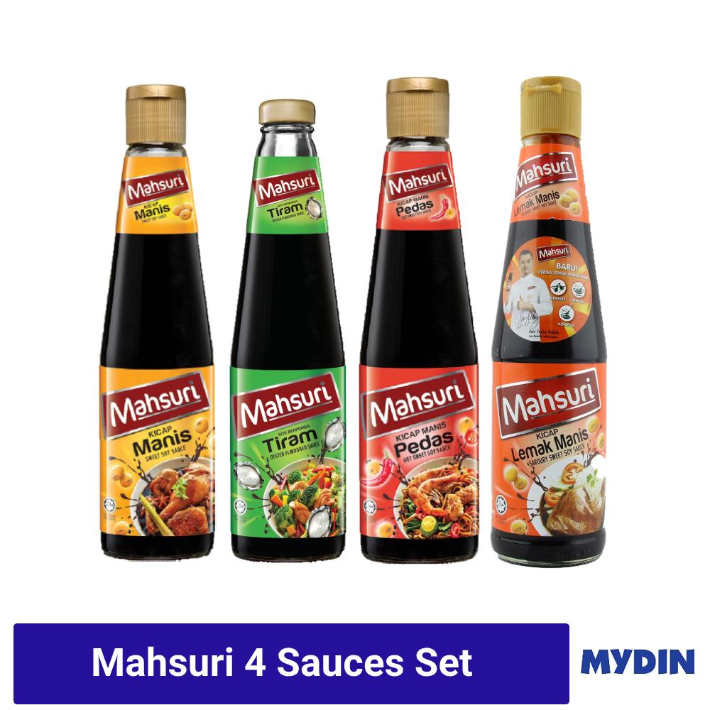 Mahsuri-Set (4 items)