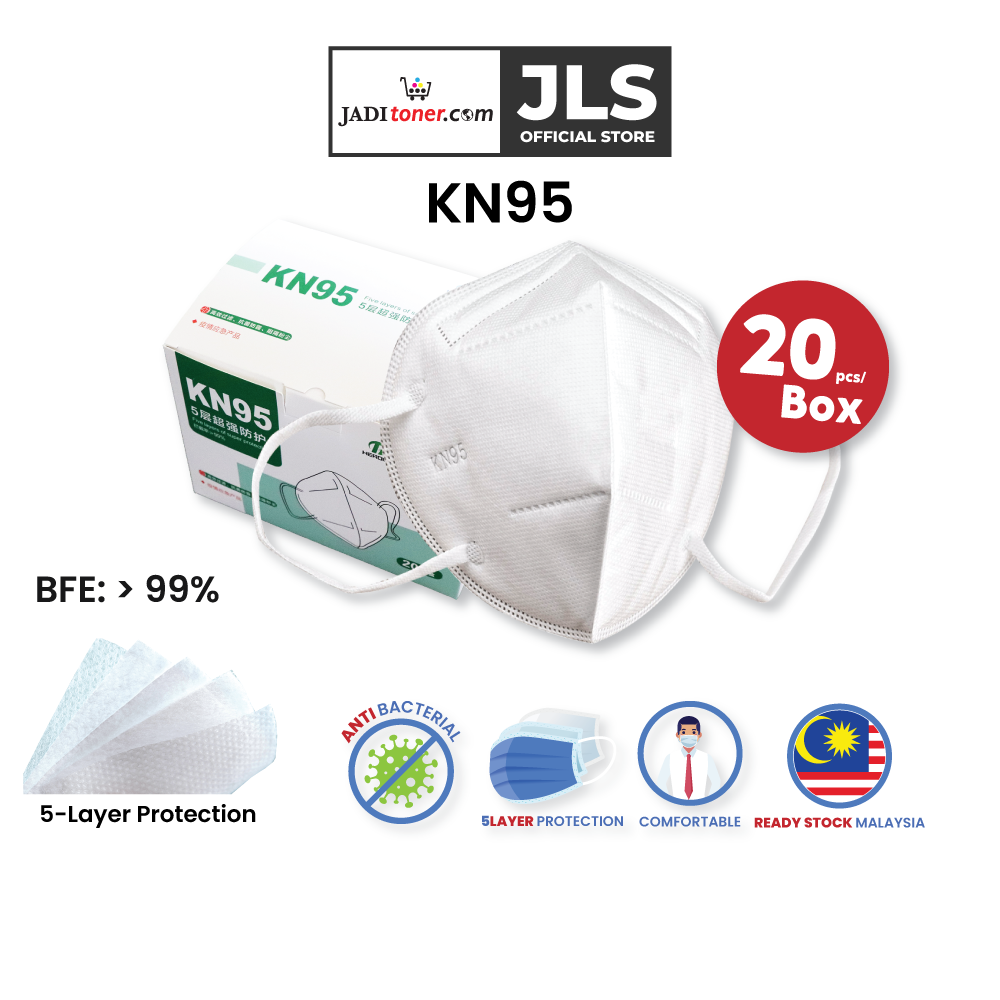 Healthcare Disposal Five Layers of Super Protection Facemask White KN95