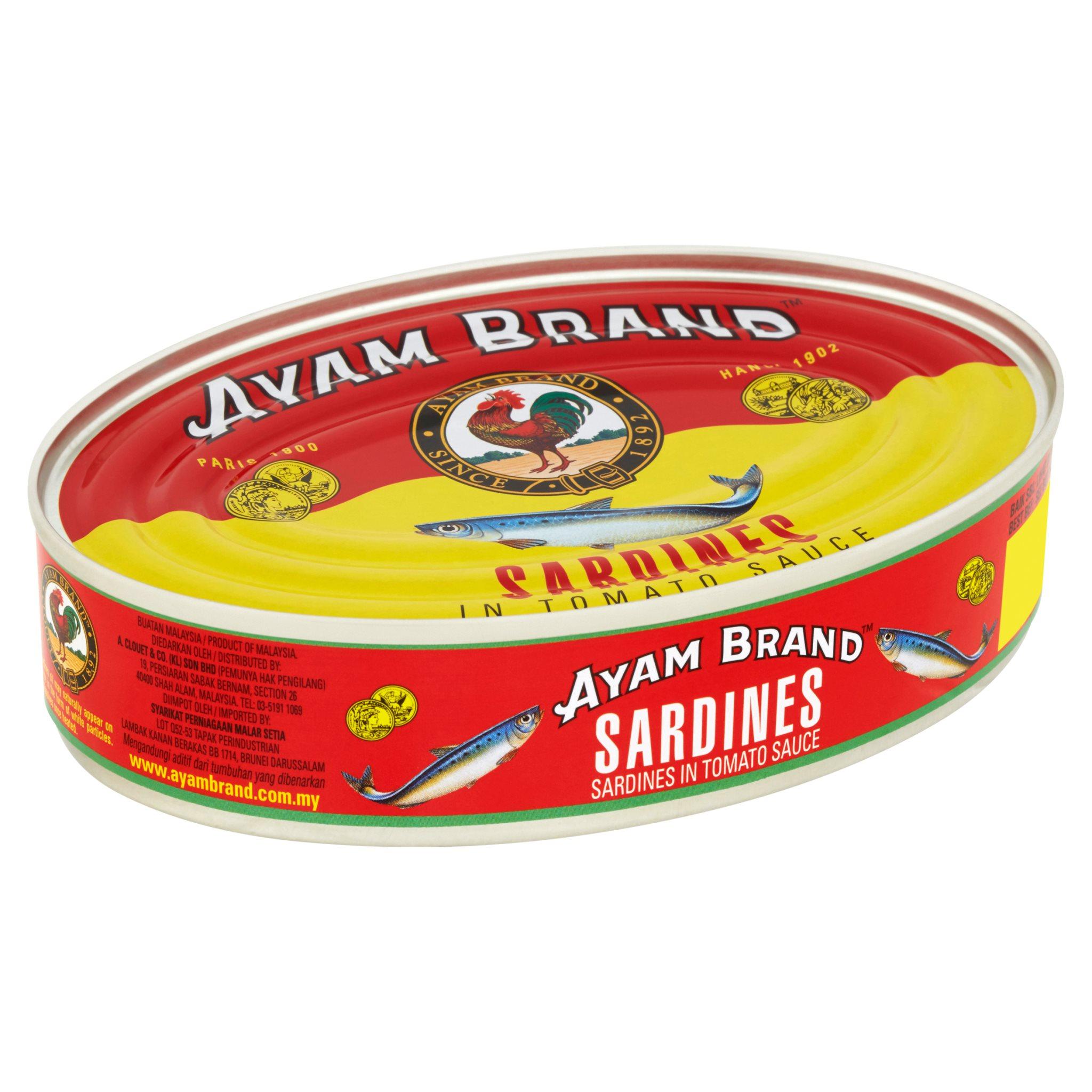 Ayam Brand Sardines in Tomato Sauce 215g