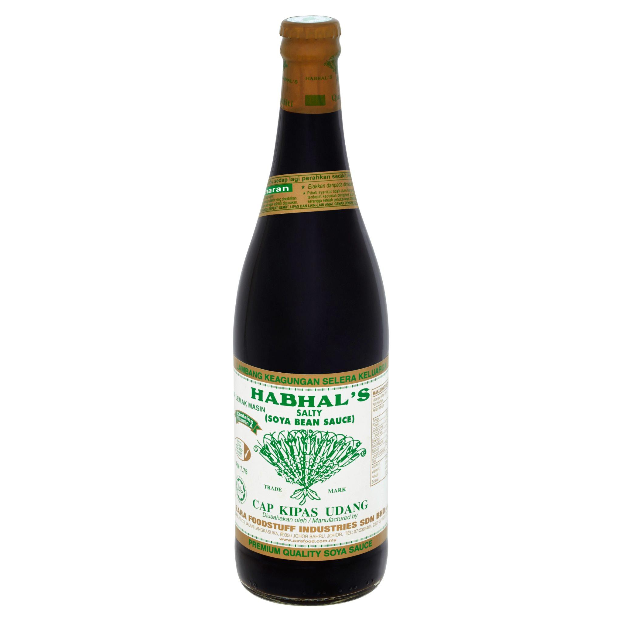 Habhals Soya Bean Sauce Salty 645ml