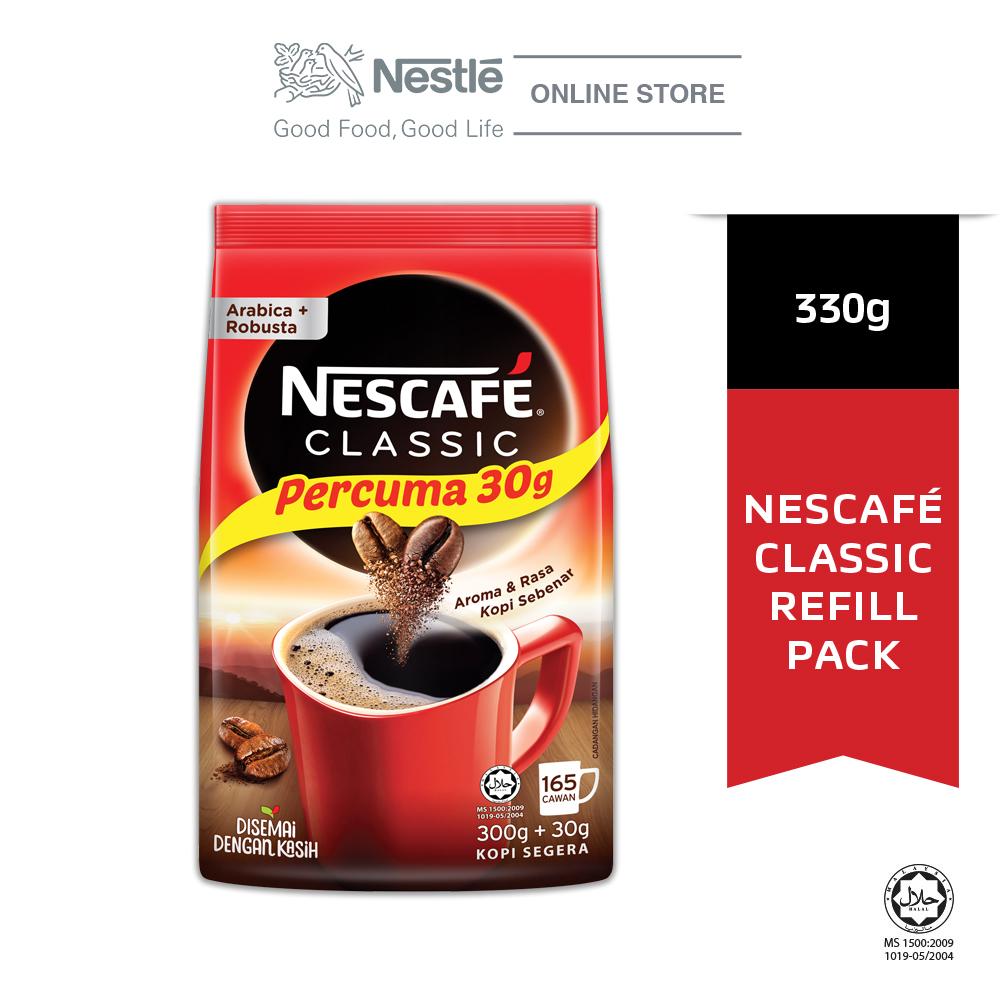 NESCAFÉ CLASSIC Coffee Refill Pack 330g Bonus Pack