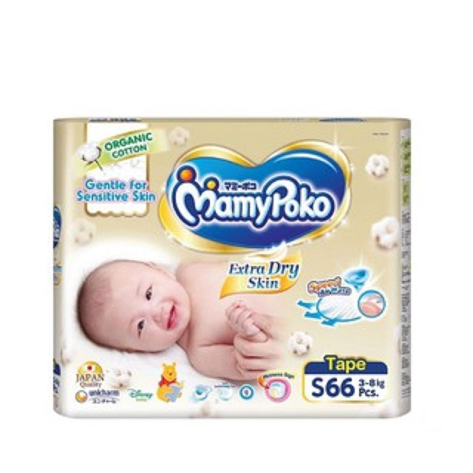 Mamy Poko Organic Tape SJ Extra Dry S66