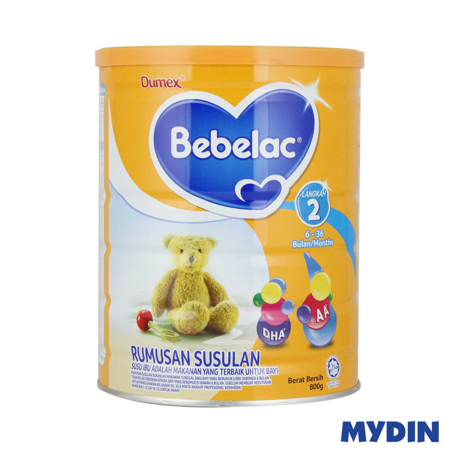Bebelac Infant Milk Powder Step 2 800g