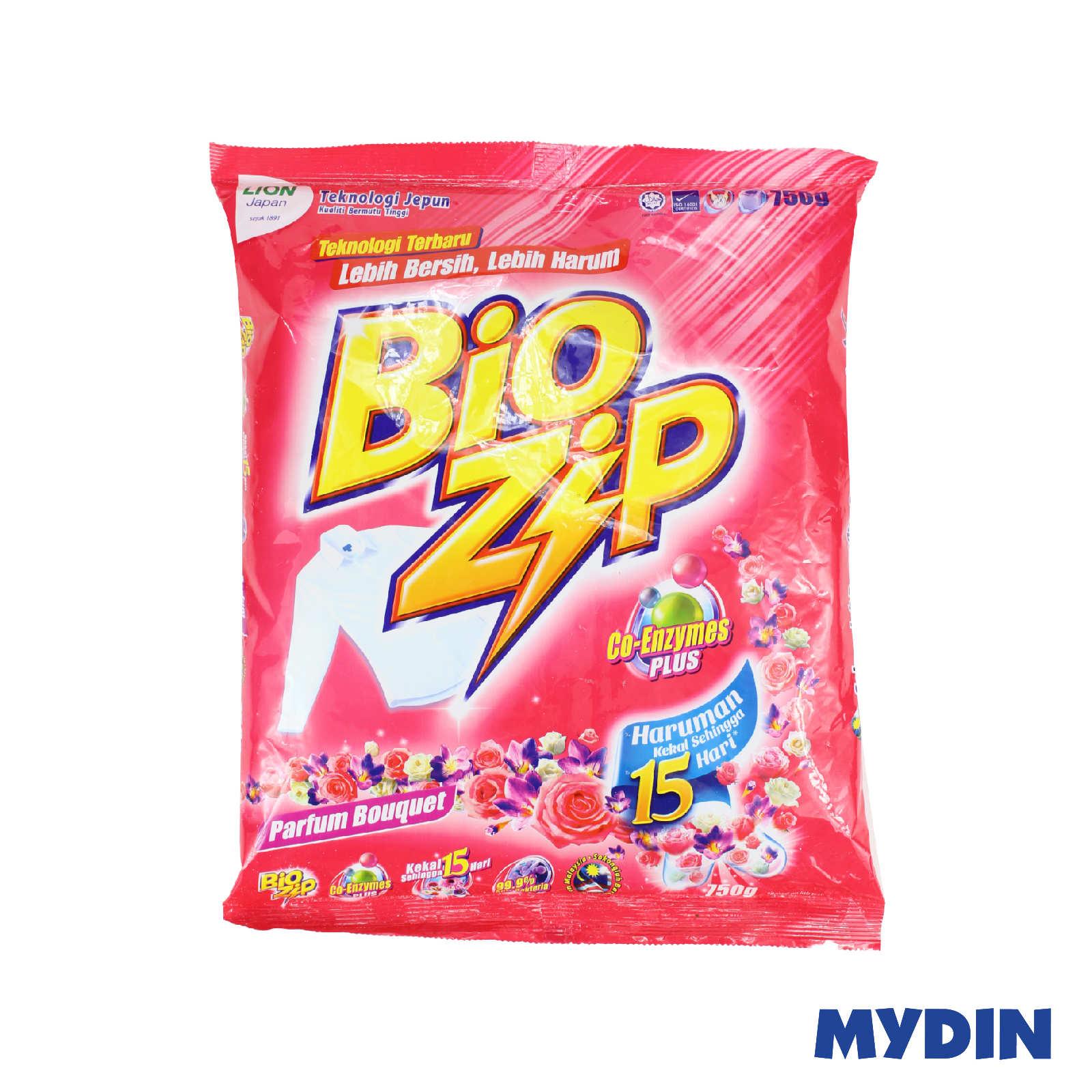 Bio Zip Parfum Bouquet Powder Detergent 750g