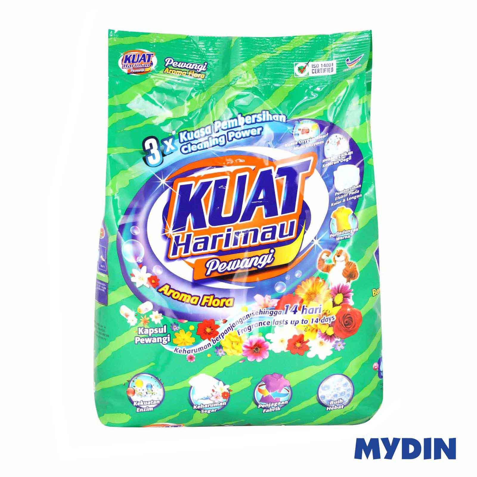 Kuat Harimau Floral Detergent Powder (3.8kg)