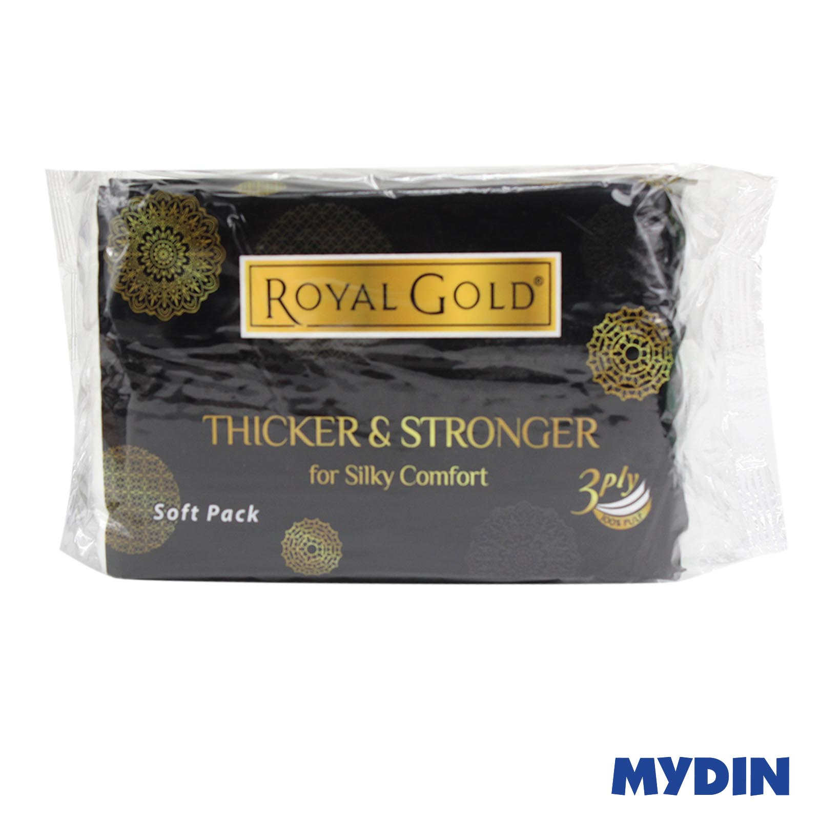 Royal Gold Luxurious Facial Tissue Soft Pack (3ply x 3 pack x 50's)