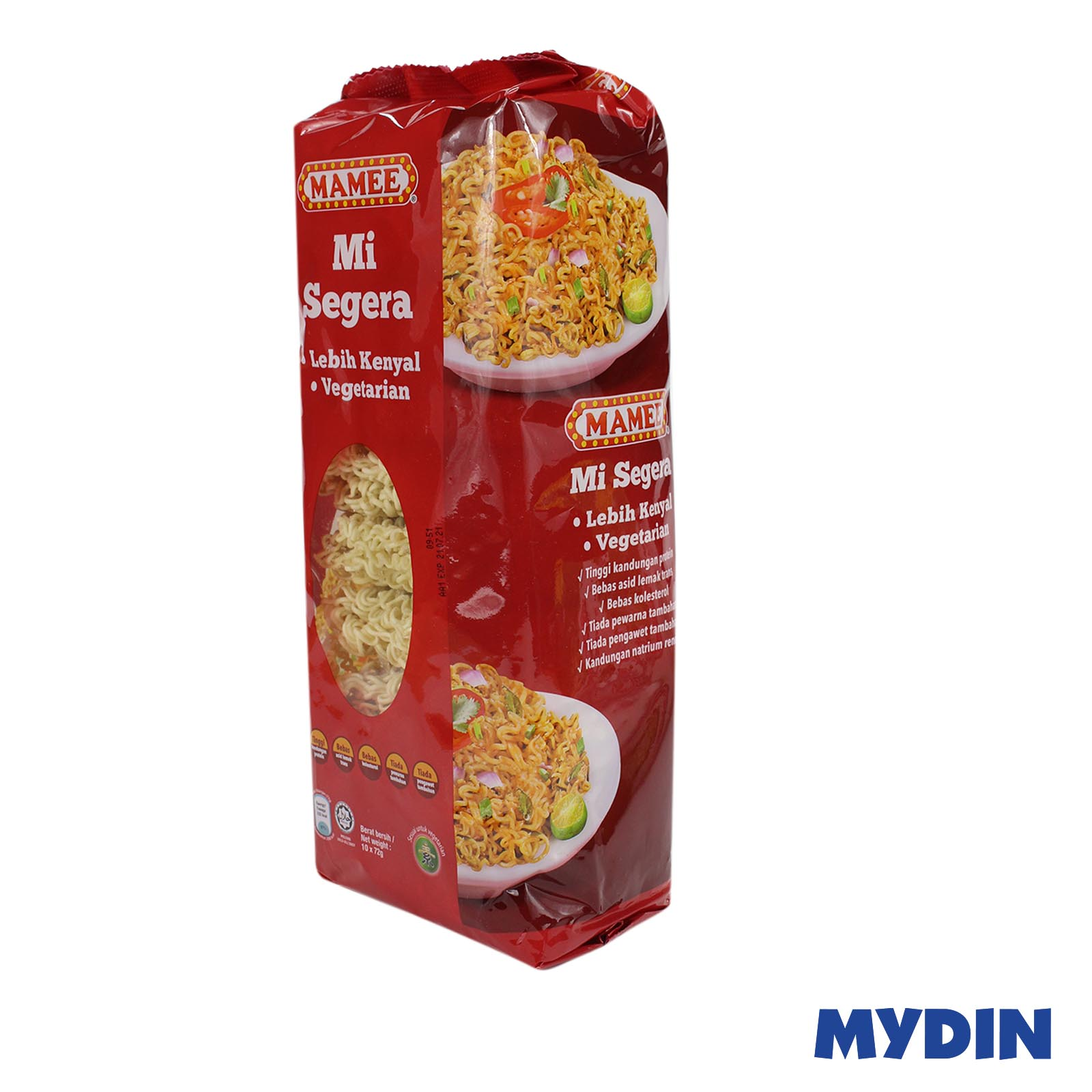Mamee Instant Noodle (10 x 72g)