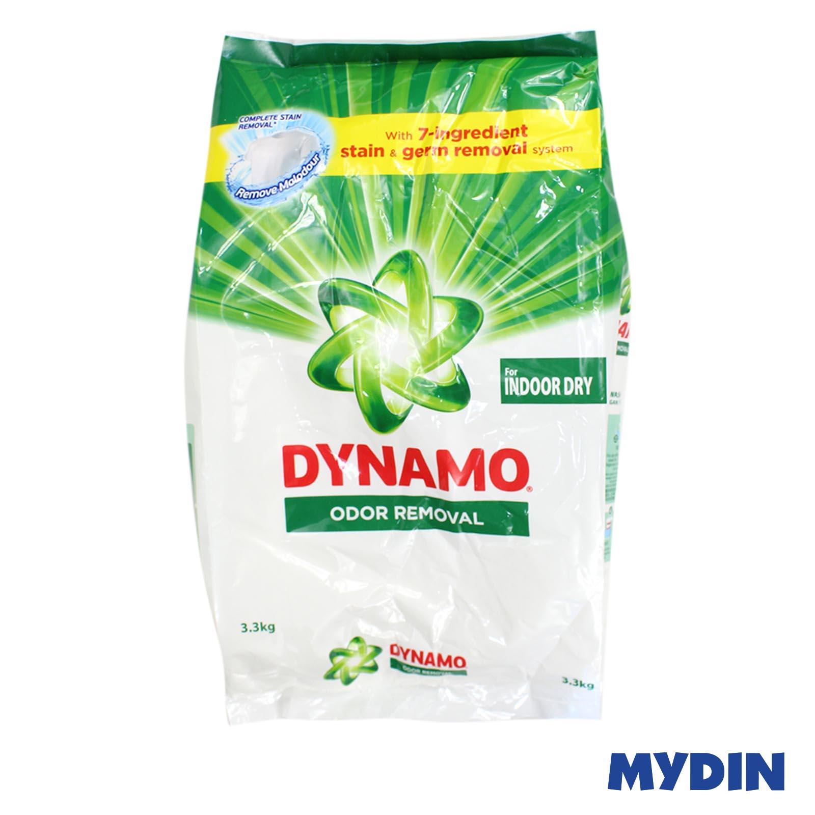 Dynamo Powder Detergent Odor Removal for Indoor Dry (3.3kg)