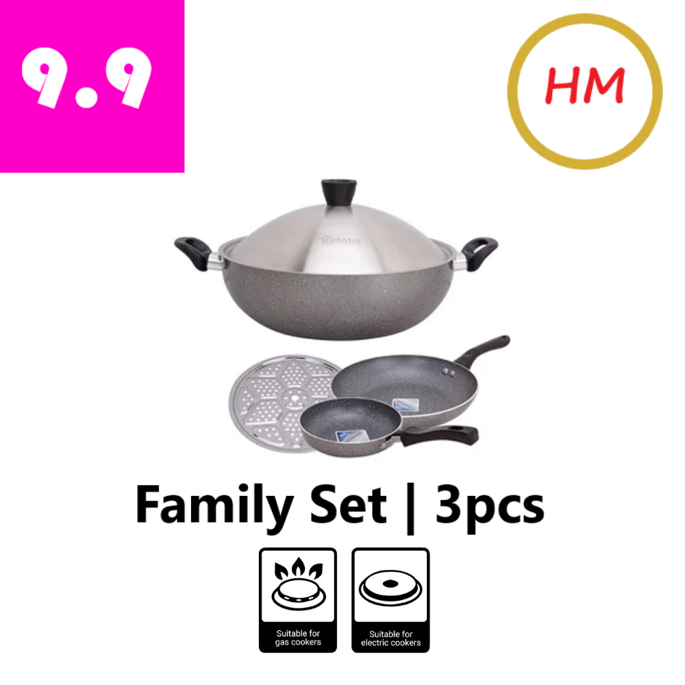 Aurasia Family Cookware Set