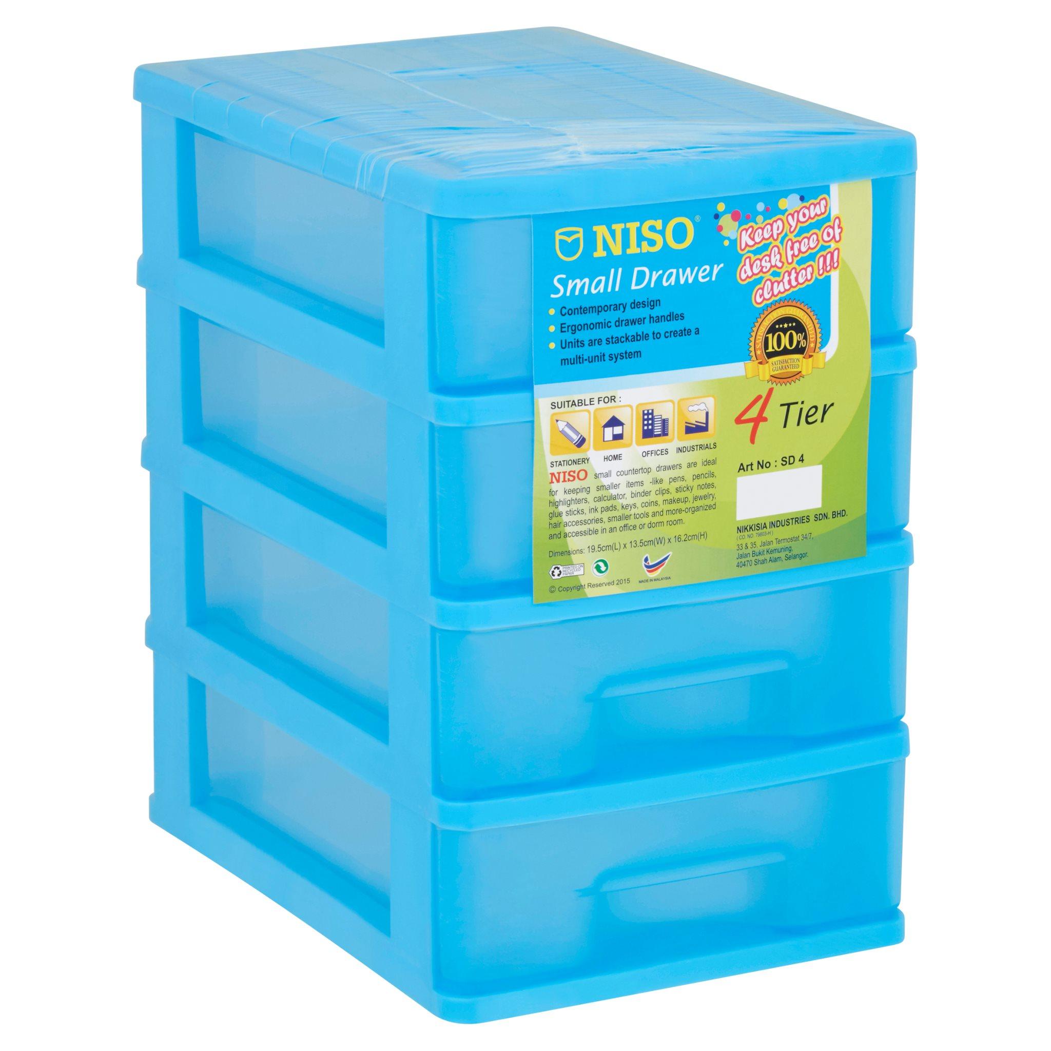 Niso Mini Drawer 4 Tier SD4