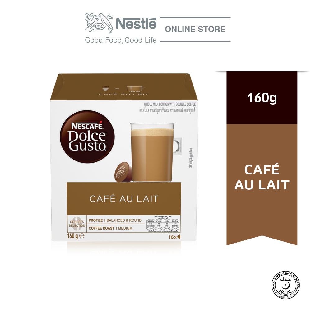 NESCAFE Dolce Gusto Cafe Au Lait 16 Capsules Per Box