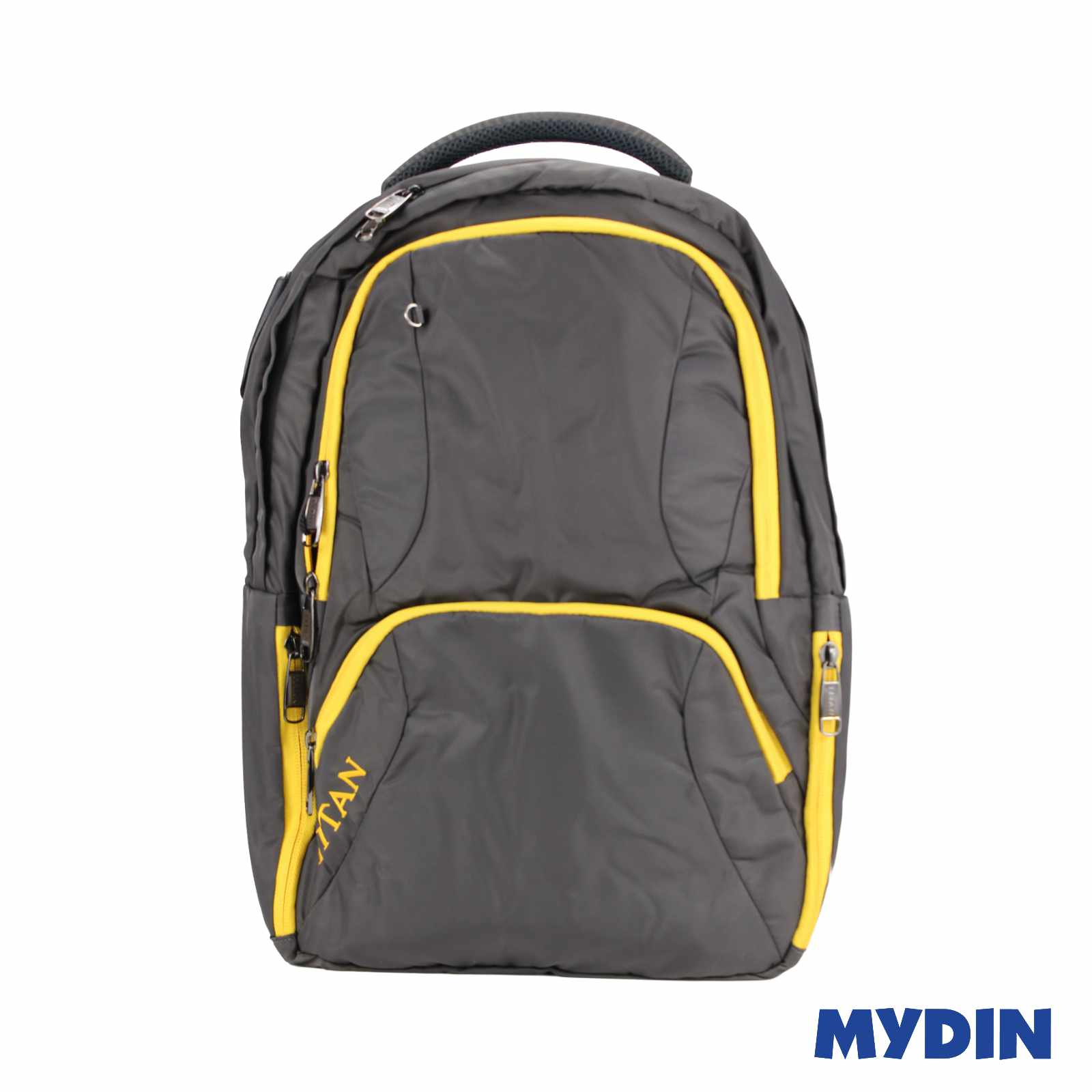 Titan Laptop Haversack Bag 2C A54LB (Grey with Yellow Line)