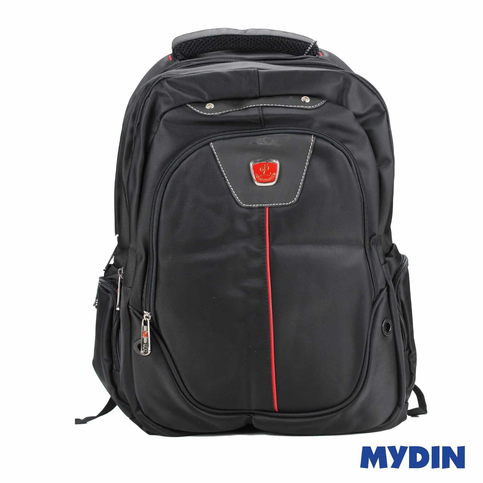 Polo Banker Laptop Haversack Bag 1C E46LB (Black Red)
