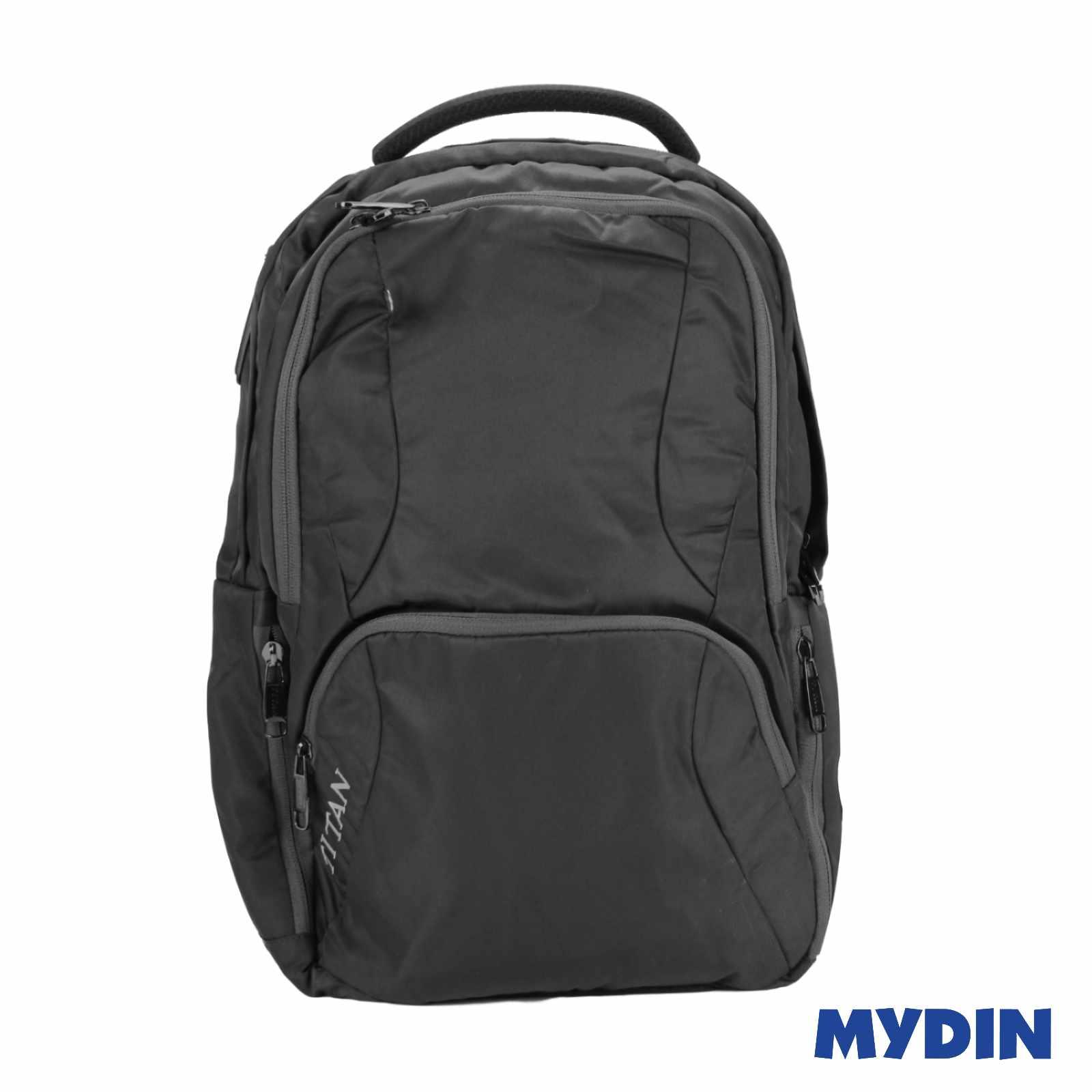 Titan Laptop Haversack Bag 2C A54LB (Black with Grey Line)