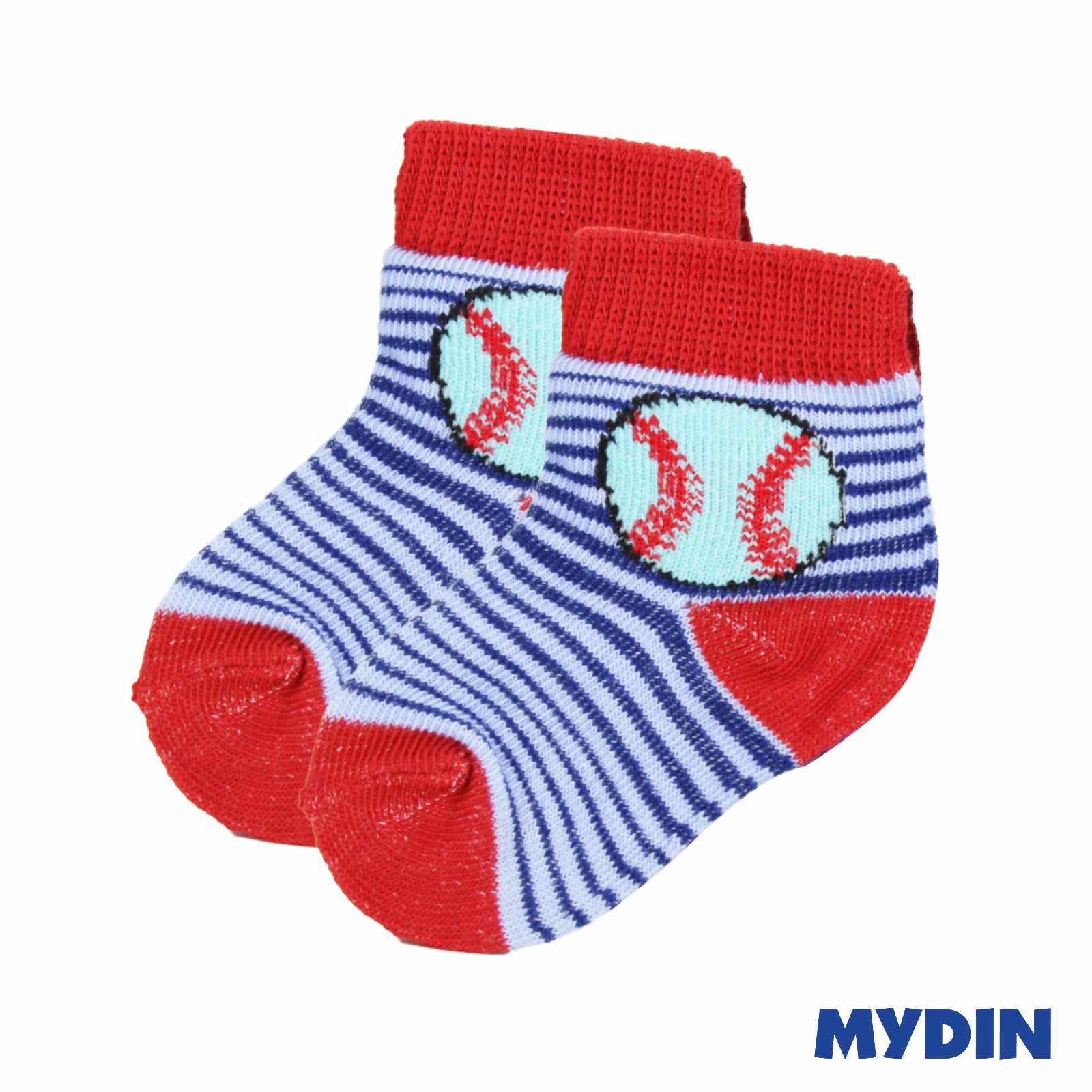 Ruerbear Baby Socks 3 Pair (0-6m) 1219WBRBBE01B