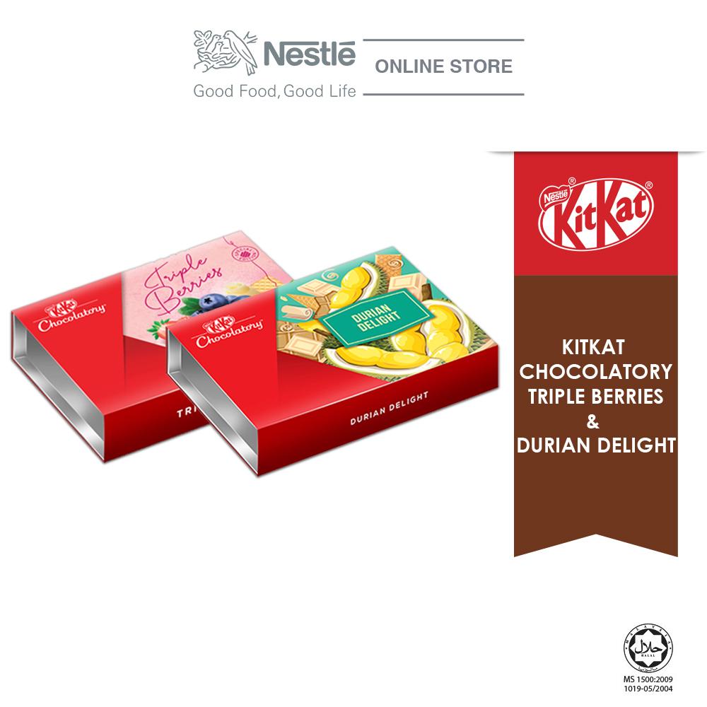 Nestle KITKAT Chocolaty Special Bundle 3 (Triple Berries & Durian Delight) Exp: Nov'20