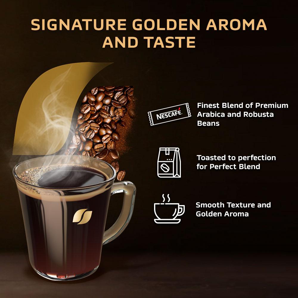 NESCAFÉ Signature GOLD Coffee Jar 200g, x2 jars