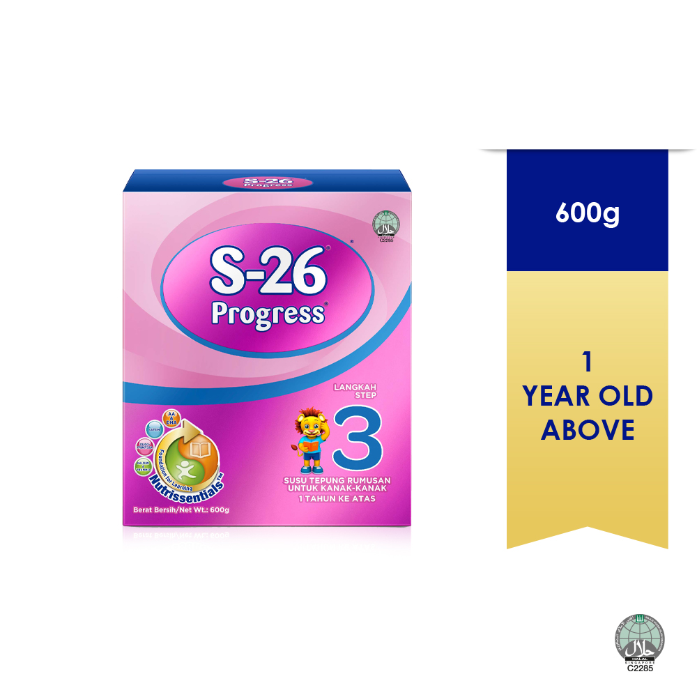 S-26 Progress Milk Powder 600g