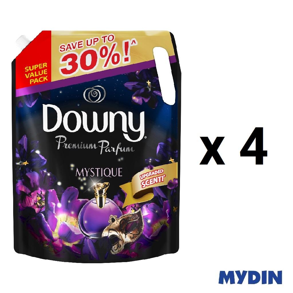 Downy Premium Parfum Mystique Concentrate Fabric Conditioner (2.1L x 4)
