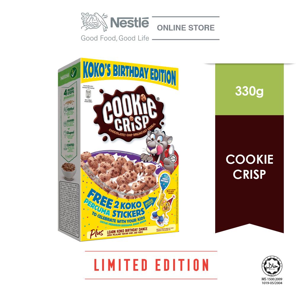 Nestle Cookie Crisp 330g (Birthday Edition) Exp: Jan 2021