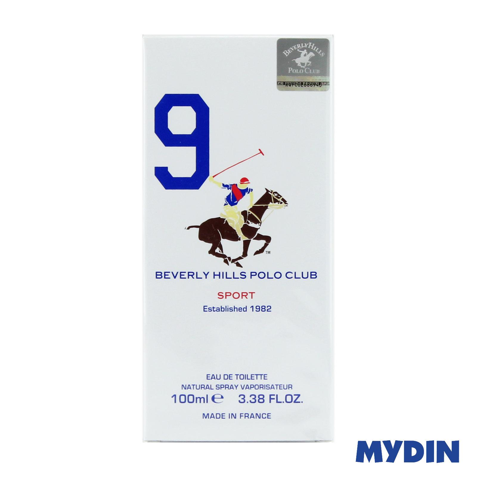 Beverly Hills Polo Club Sport Men EDT (100ml) – 4 Variants
