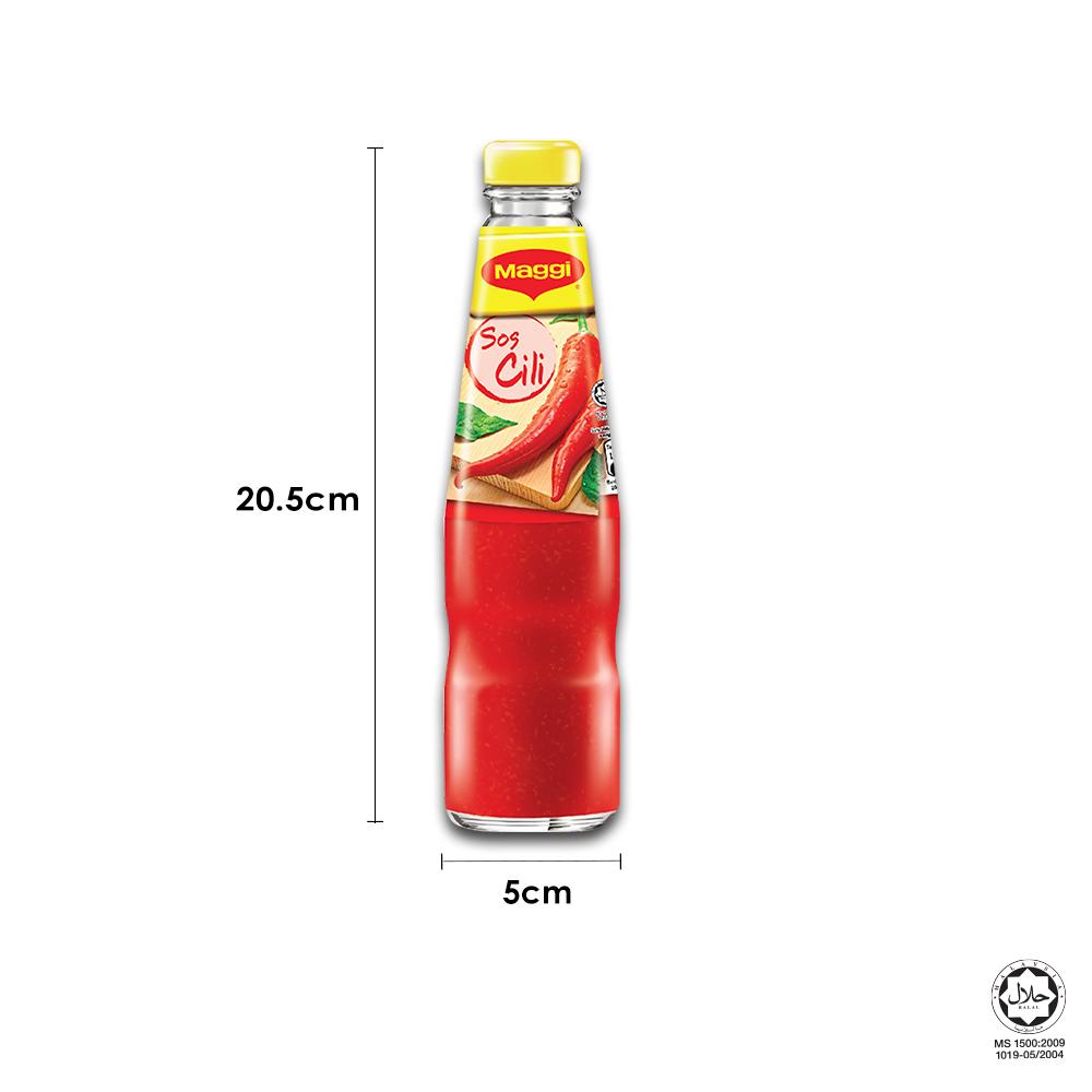 MAGGI Chilli Sauce 340g x3 bottles