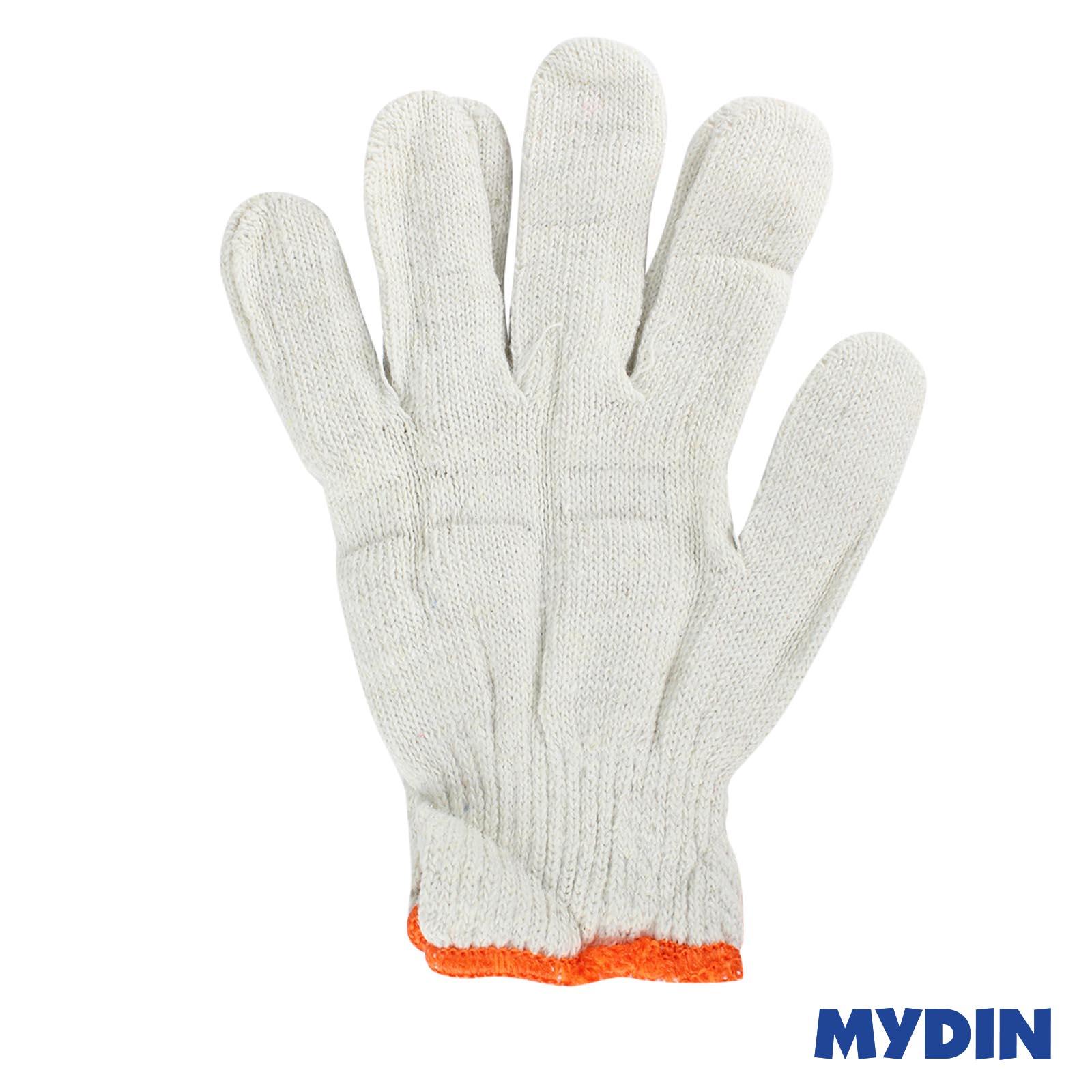 PPE Cotton Hand White Glove 104 (12s x 400g)