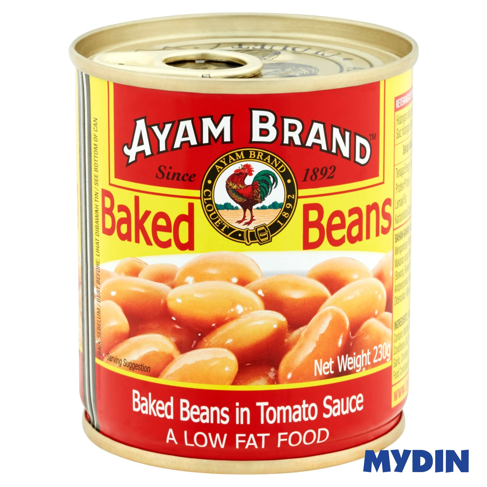Ayam Brand Baked Beans in Tomato Sauce 230g