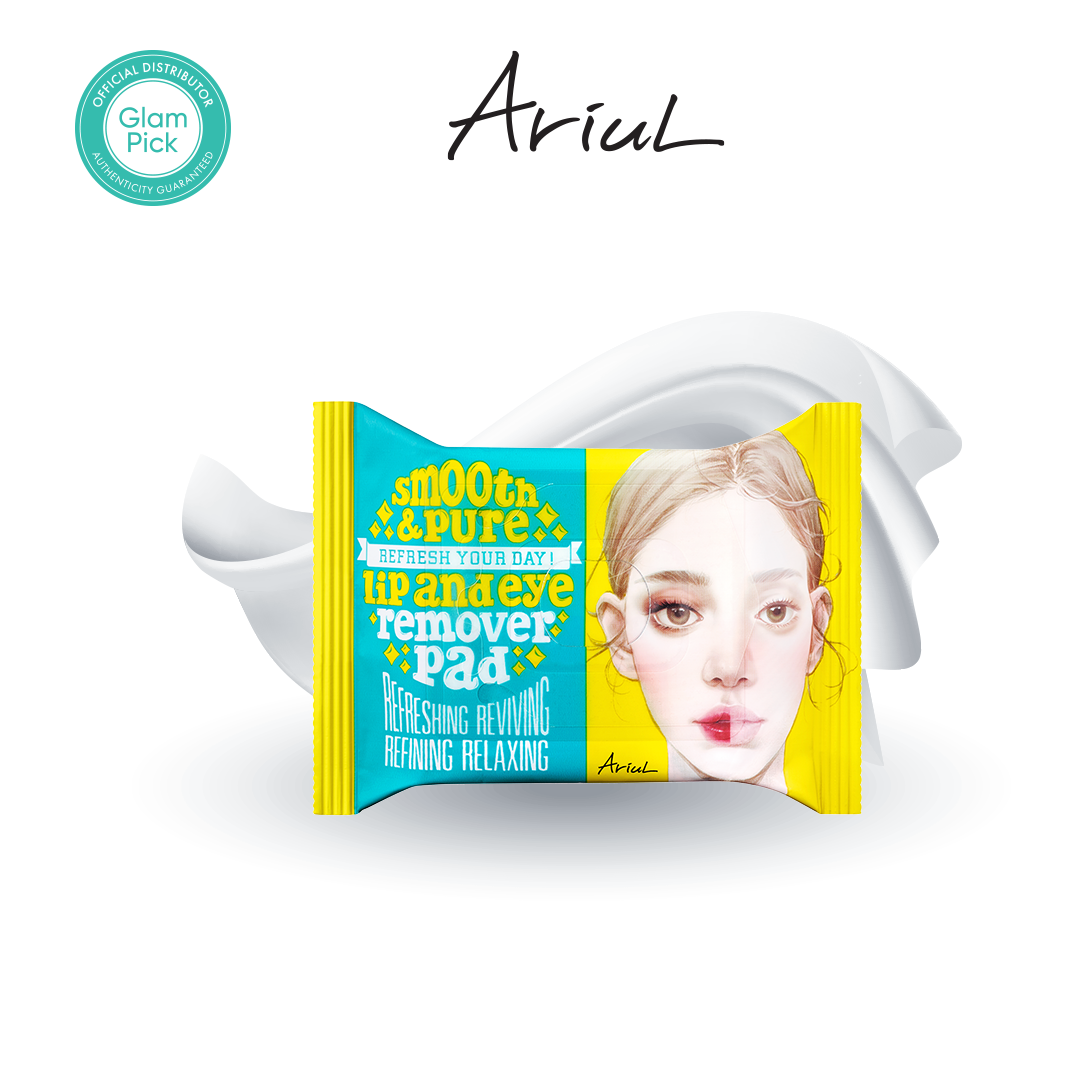 ARIUL Smooth & Pure Lip & Eye Remover Pad  30s