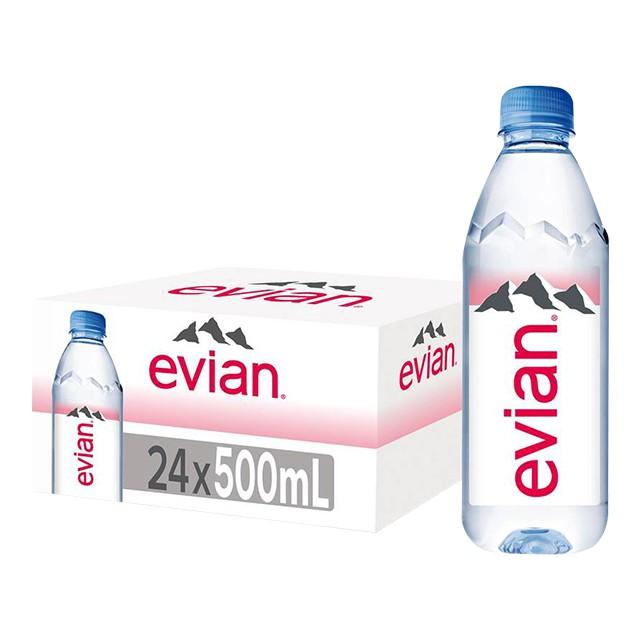 Evian Mineral Water Prestige - 1 Carton 24 x 500ml