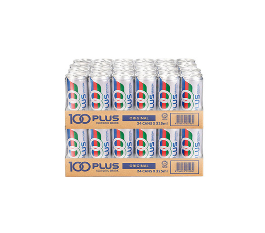 100Plus Regular can (24 x 325ml) x 2 Carton