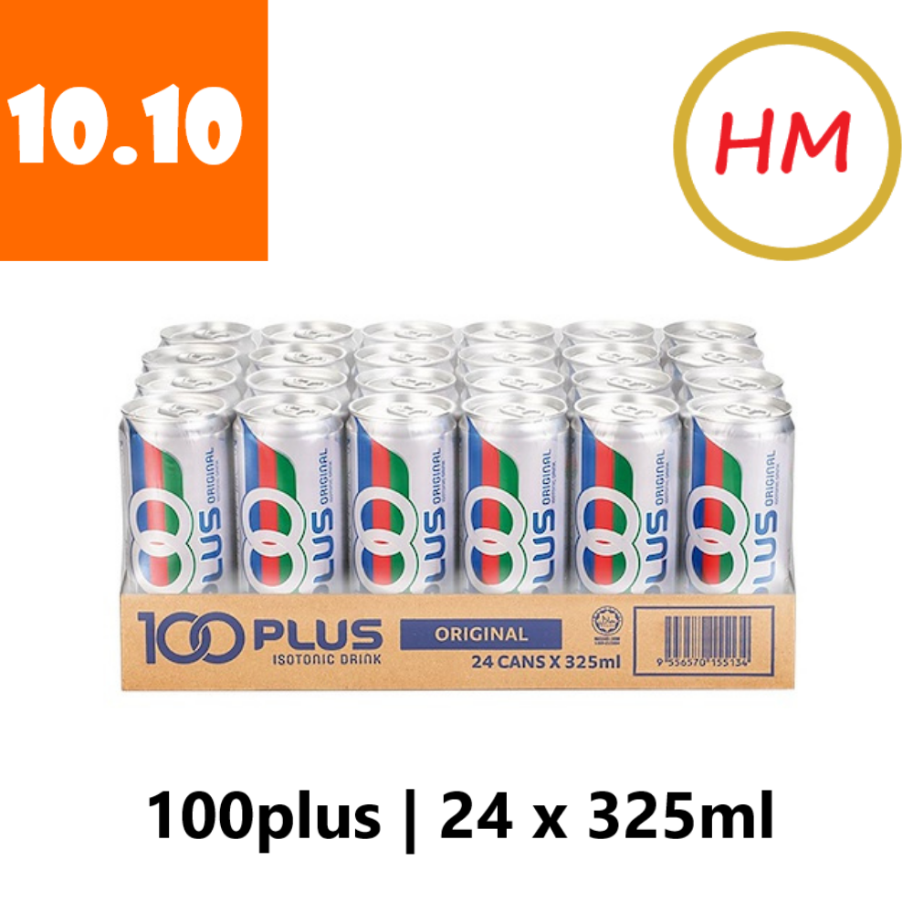100Plus Regular 1 Carton (24 can x 325ml)