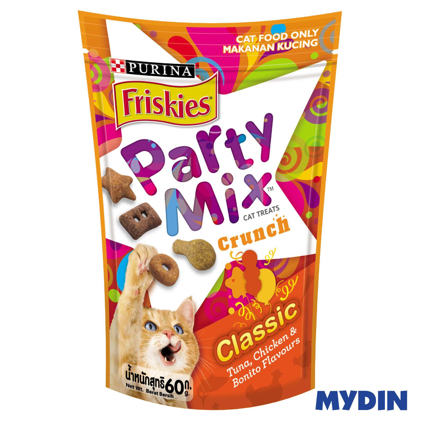 Friskies Party Mix Cat Food 60g - 3 Variants