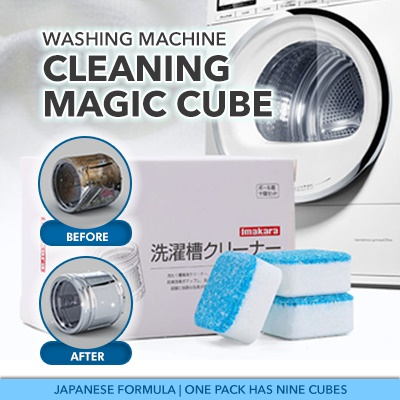 Japan Imakara Washing Machine Tank Cleaner Din 10pcs/box Washing Machine Tank