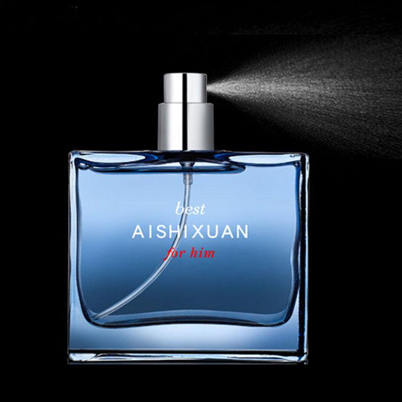 AISHIXUAN AISHIXUAND Cologne Men's Fresh and Long-lasting Light Fragrance Blue Ocean Fragrance