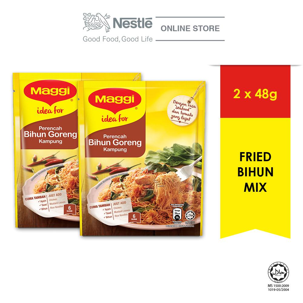 MAGGI Bihun Goreng Mix 48g, Bundle of 2