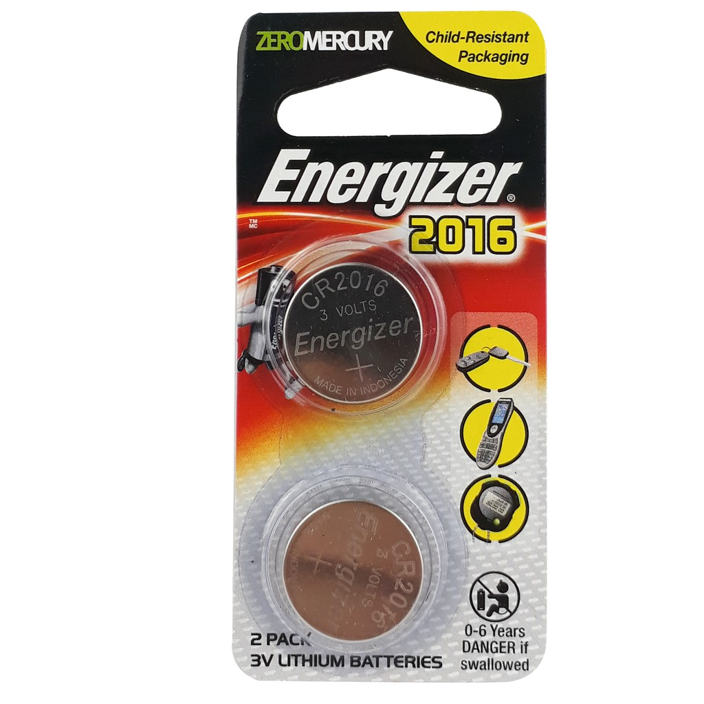 Energizer Battery Lithium ECR2016BS2G