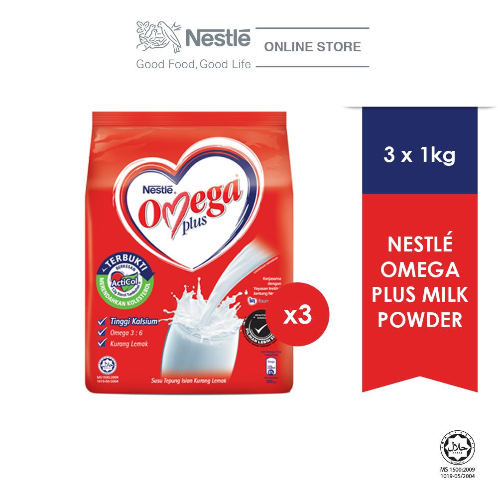 NESTLE Omega Plus 1kg, Bundle of 3