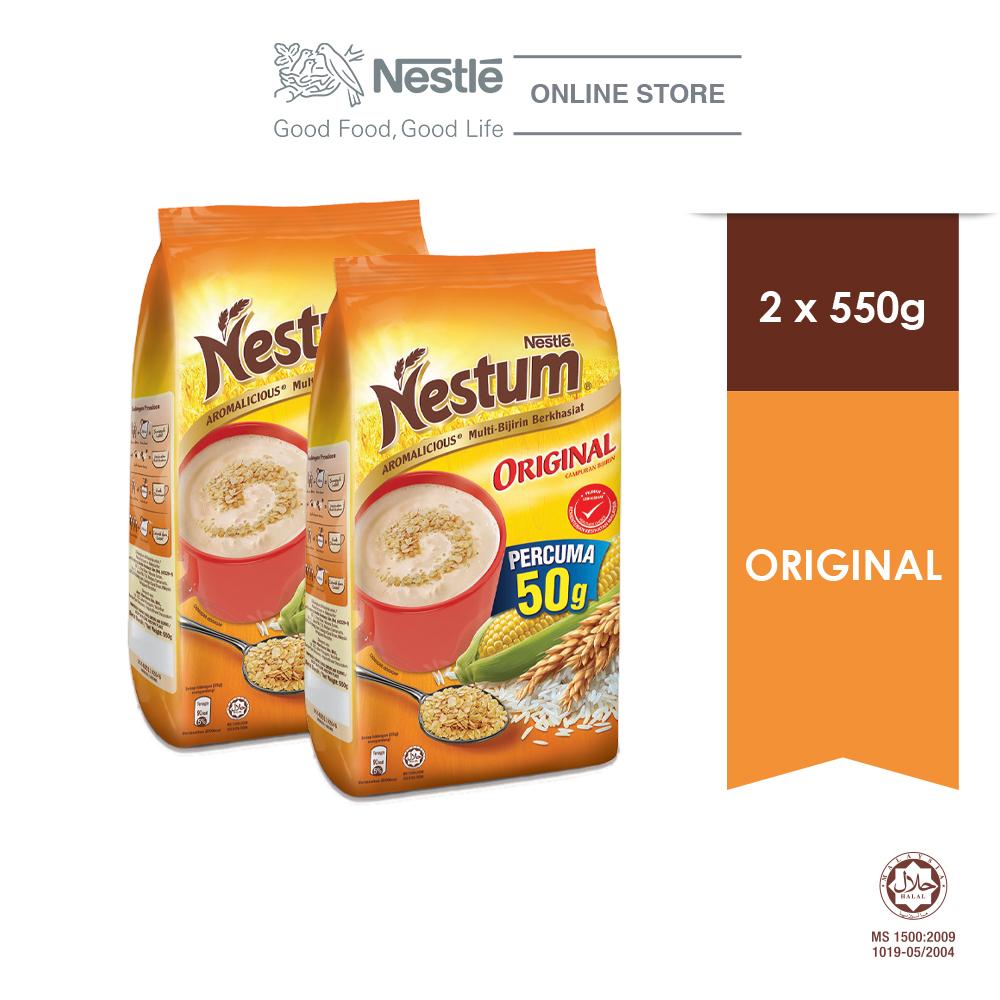 NESTLÉ NESTUM All Family Cereal Original Softpack 550g x2 packs