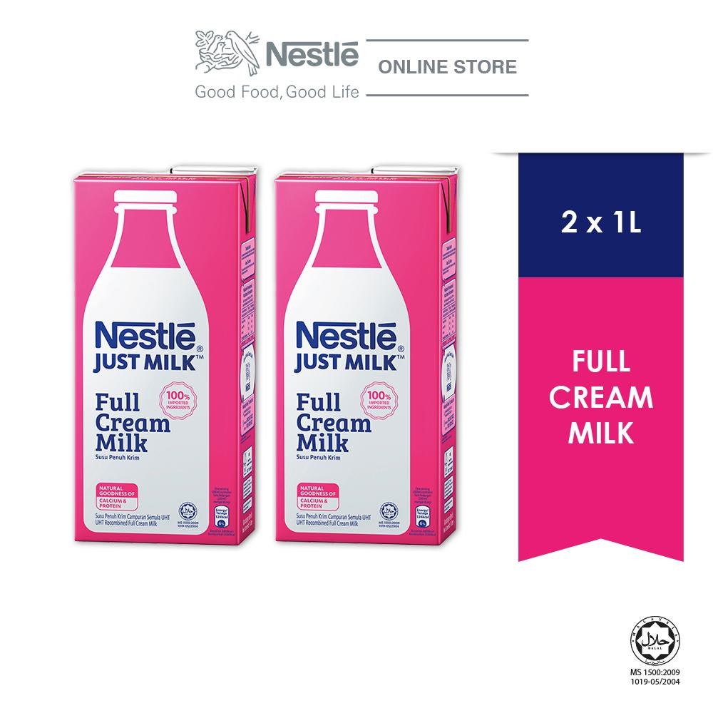 NESTLÉ JUST MILK™ Full Cream 1L x2 packs