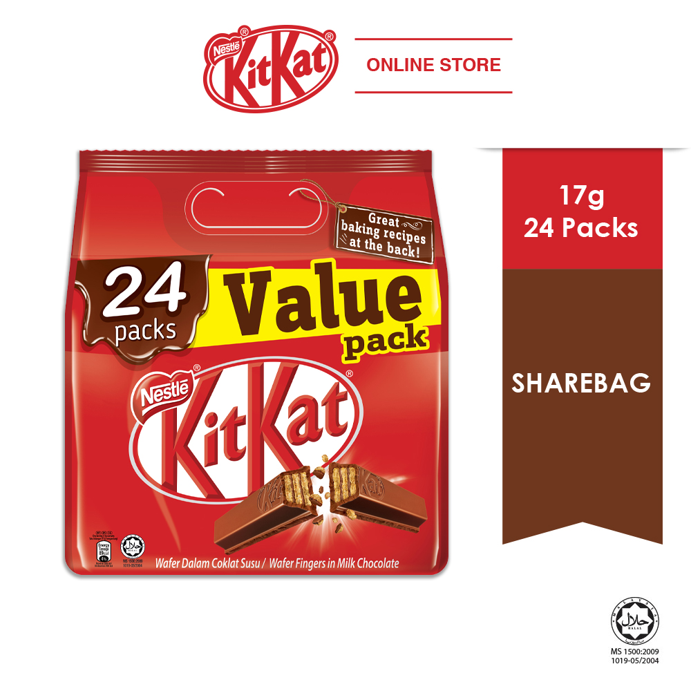 Nestle KITKAT 24packs Value Share bag