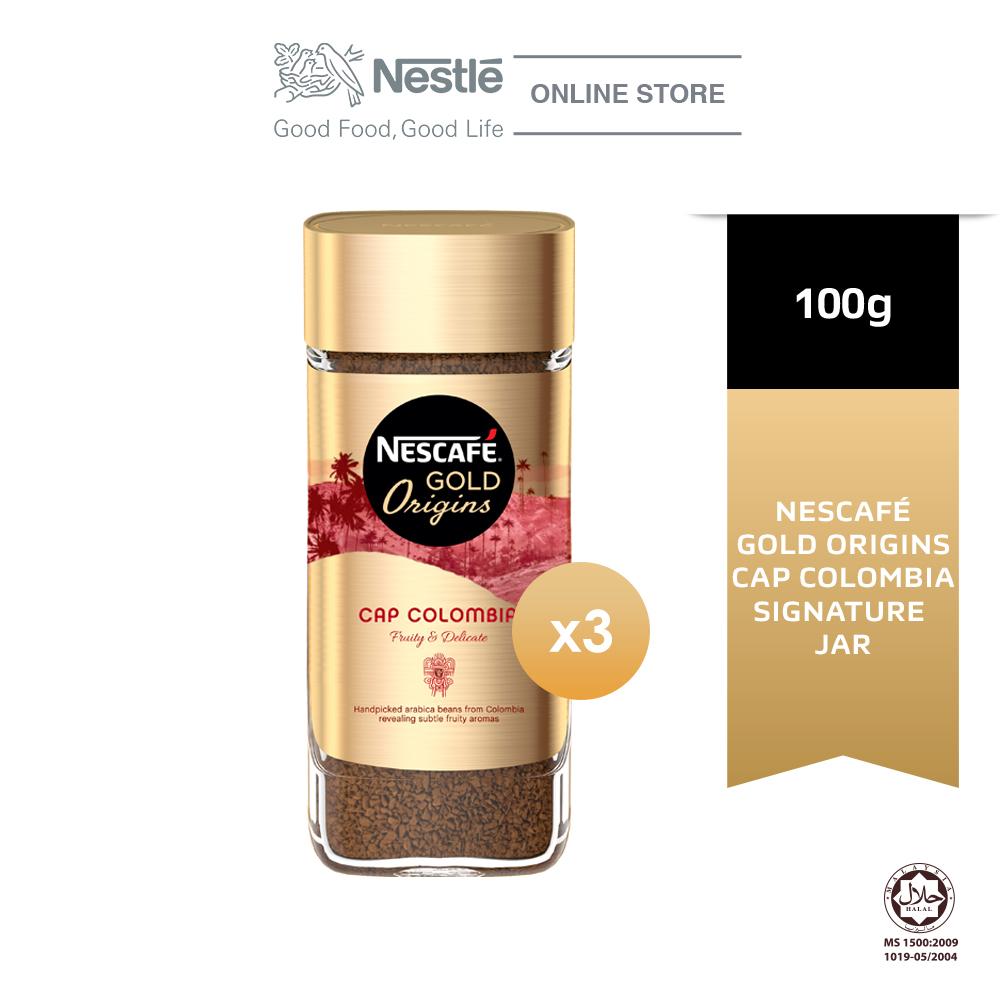 NESCAFE Gold Origins Colombia 100g, Bundle of 3
