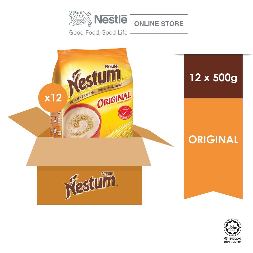 NESTLE NESTUM All Family Cereal Original Softpack 500g x 12 Packs (Carton)