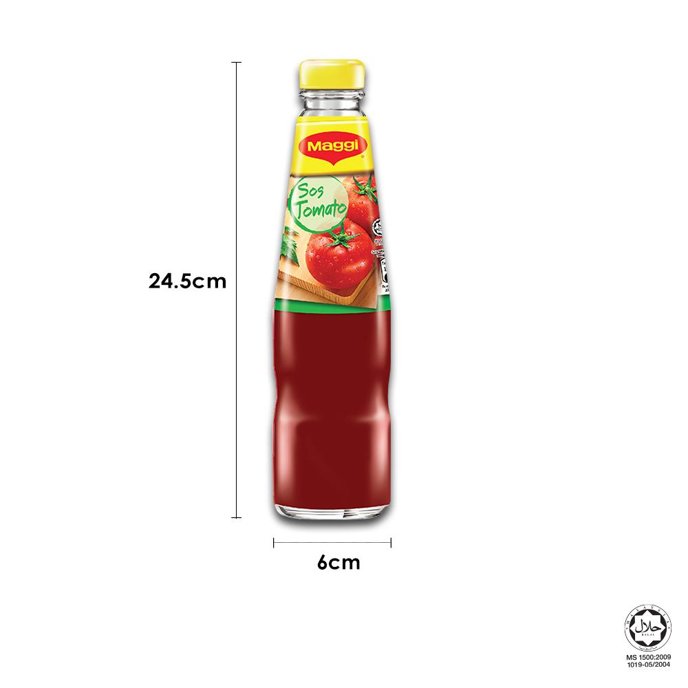 MAGGI Tomato Ketchup 475g, Bundle of 3