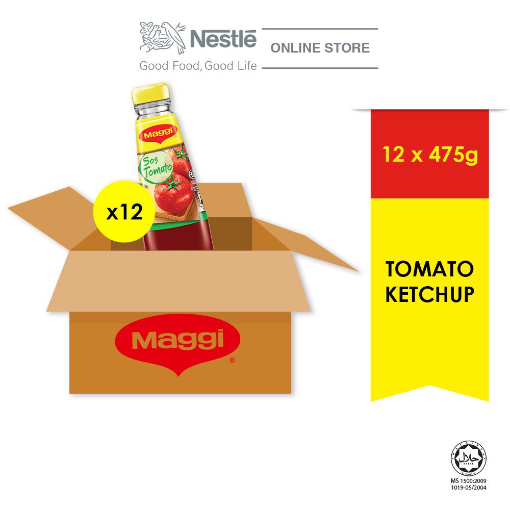 MAGGI Tomato Ketchup 475g x 12 Jar (Carton)