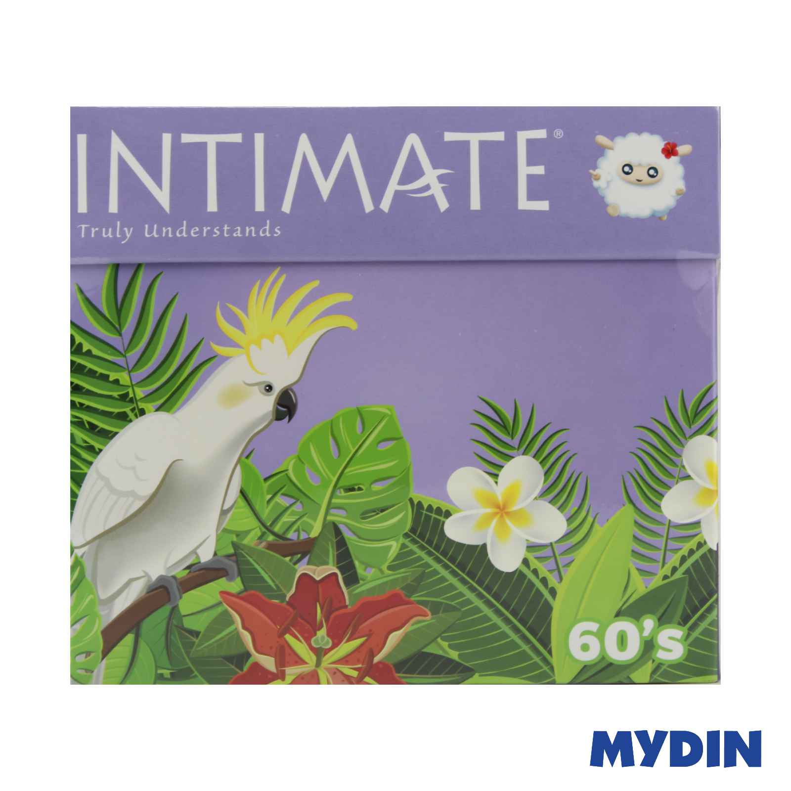 Intimate Long Pantyliners (180mm x 60 Pieces)