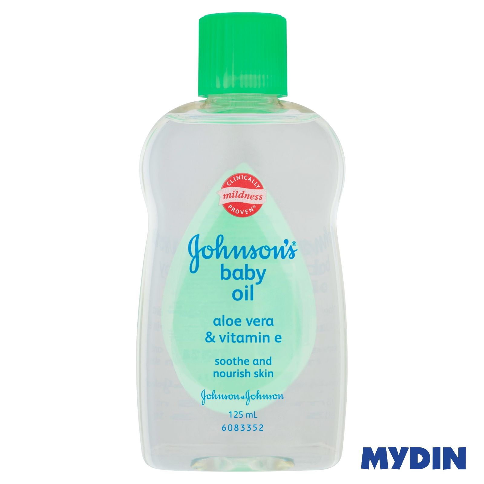 Johnson's Baby Oil - Aloe Vera & Vitamin E (125ml)